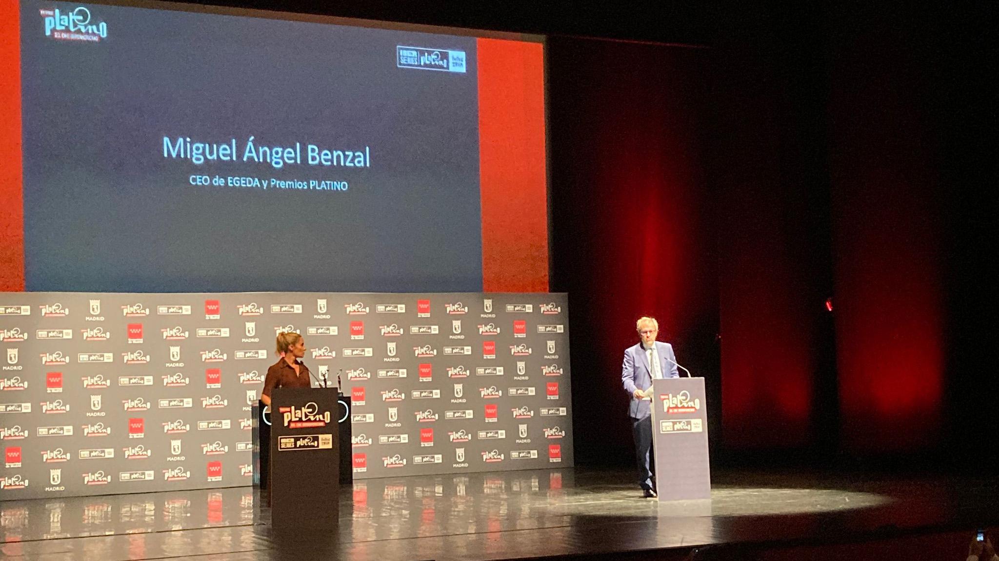 Miguel Angel Benzal hizo balance del cine iberoamericano en tiempo de pandemia (L.L.)