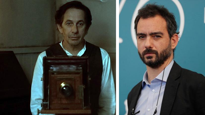 """Alfredo Castro, en """"Blanco en blanco"""", y Theo Court"""