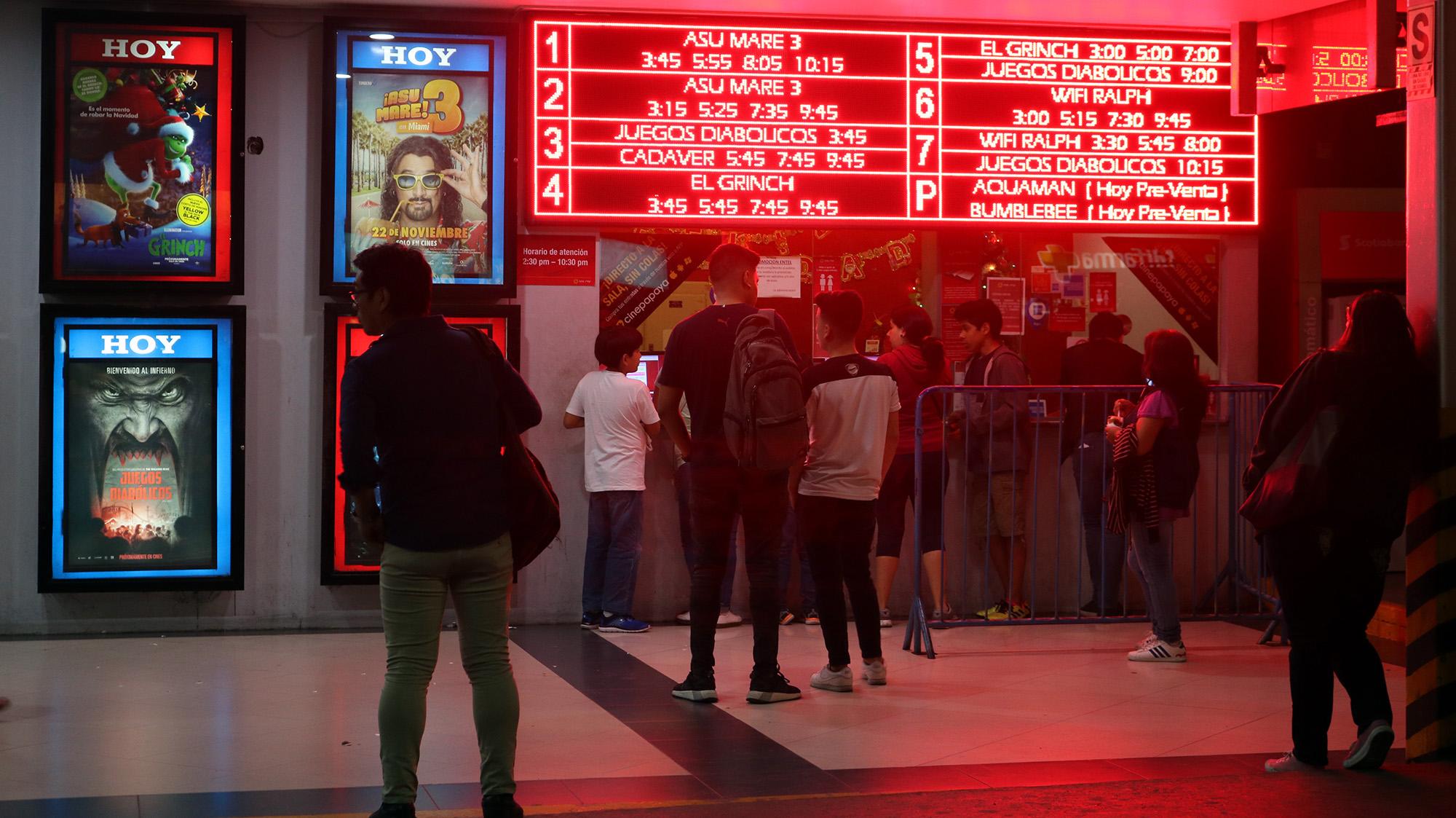 Sala de cine limeña (Mayimbú)