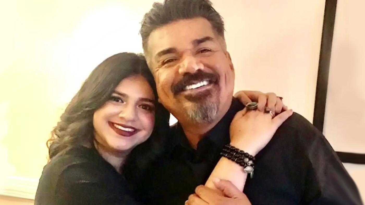 George López con su hija Mayan