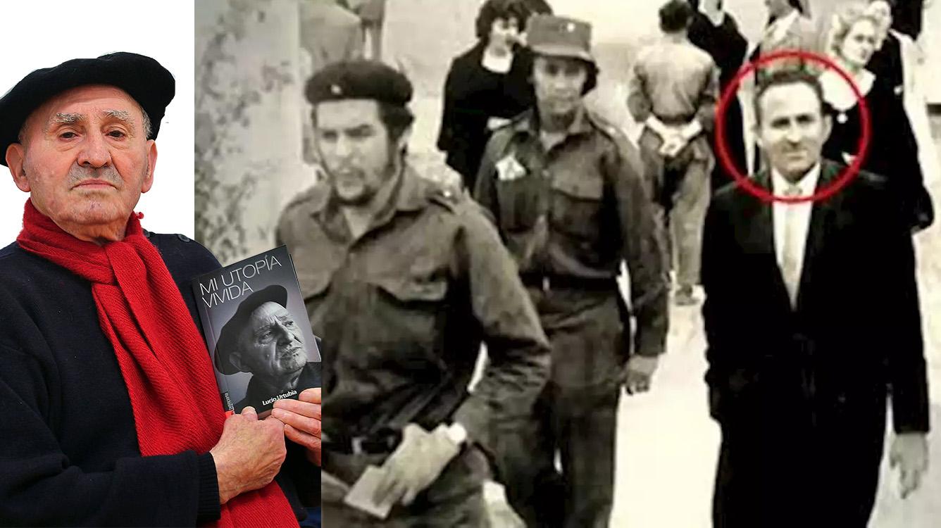 Lucio Urtubia en la etapa final de su vida y con Che Guevara