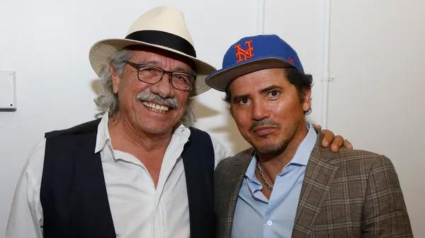 Edward James Olmos y John Leguízamo