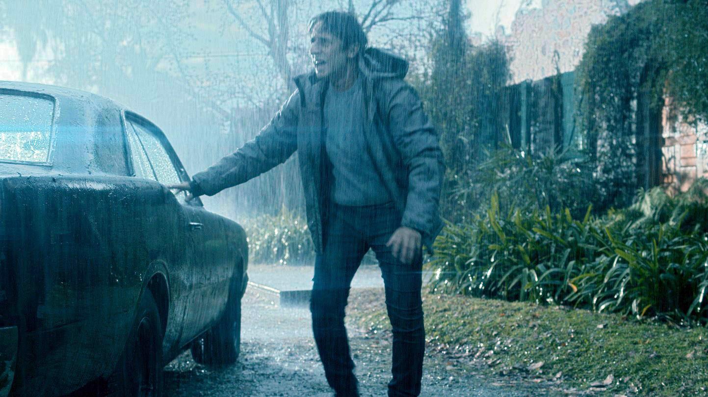 """Diego Peretti, en una escena de """"Ecos de un crimen"""""""