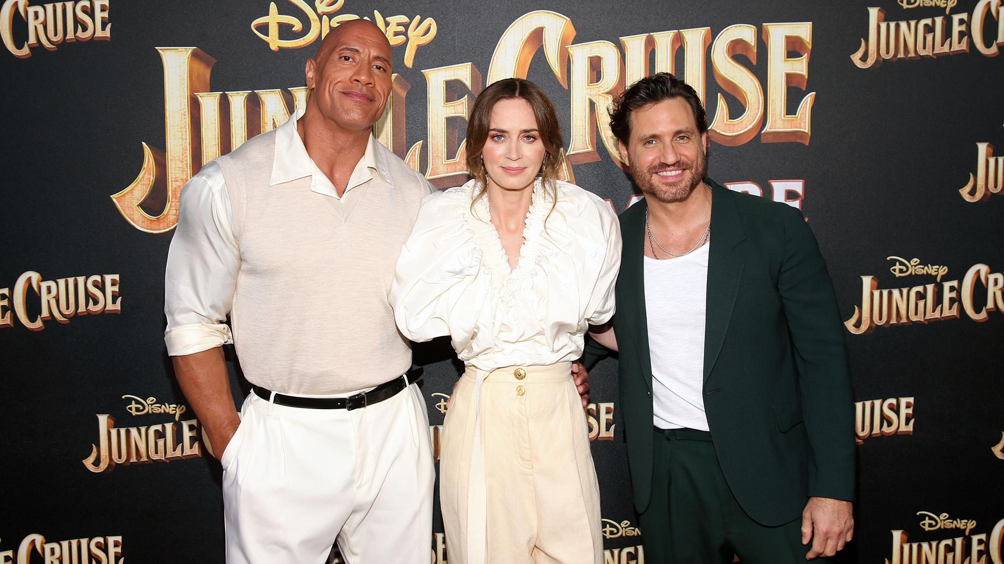 Johnson, Blunt y Ramírez (Disney)