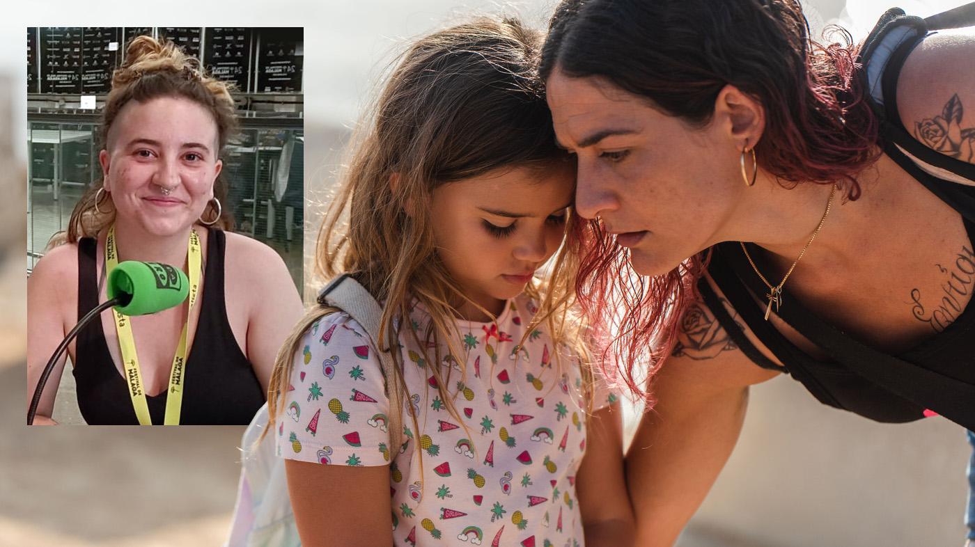 Julia de Paz y su película