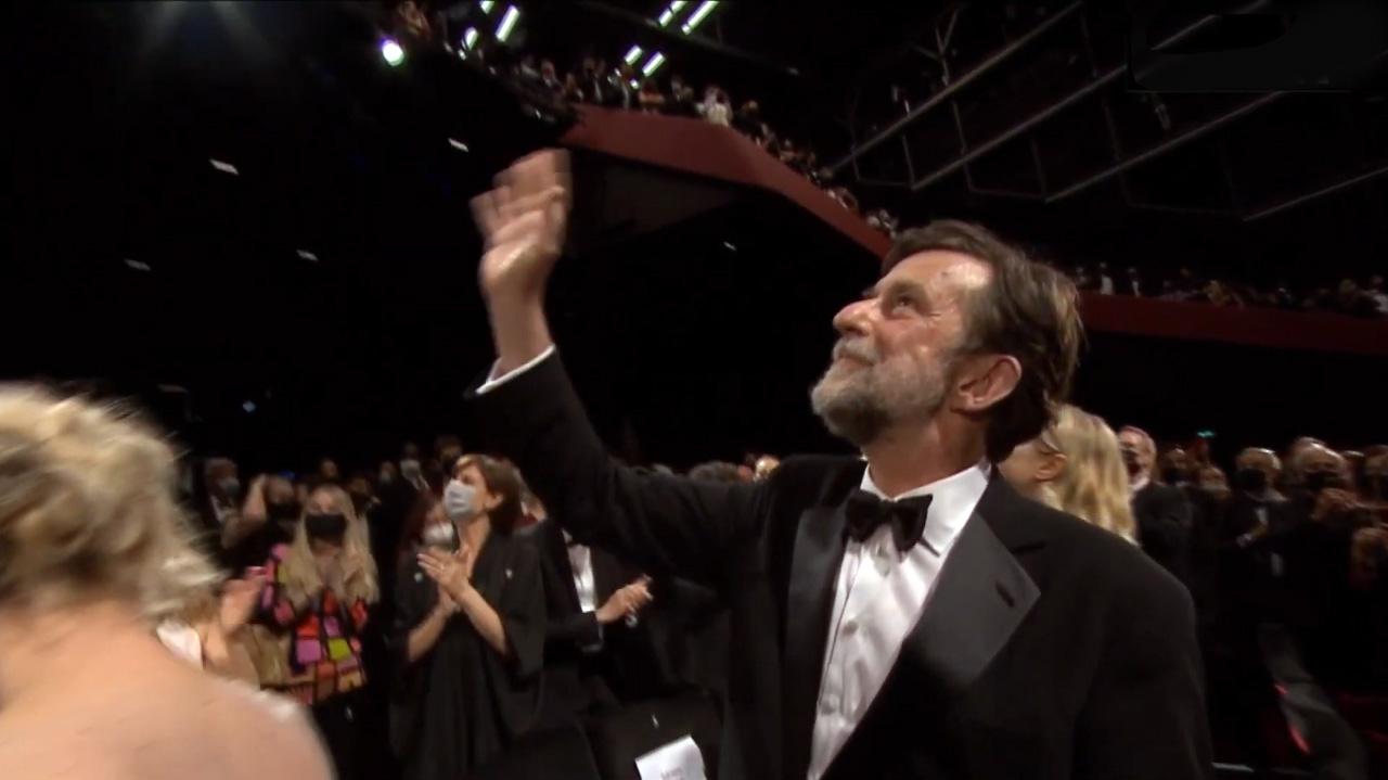 Nanni Moretti, aplaudido en Cannes (CP)