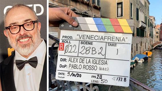 Alex de la Iglesia filma en Venecia