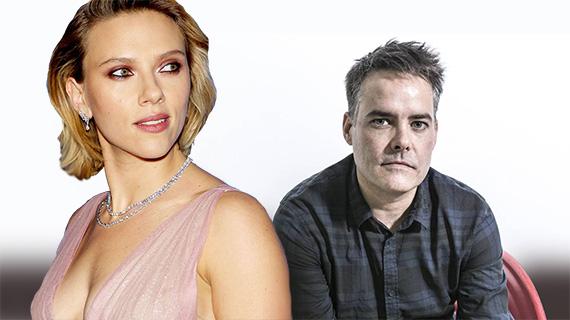 Scarlett Johansson  y Sebastián Lelio
