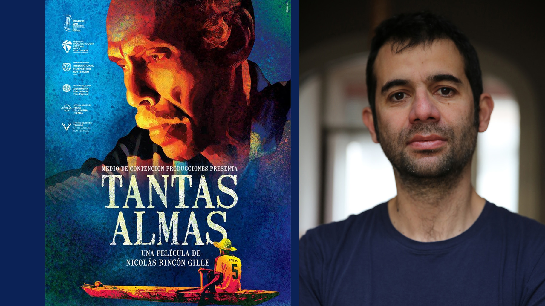 Nicolás Rincón y su película
