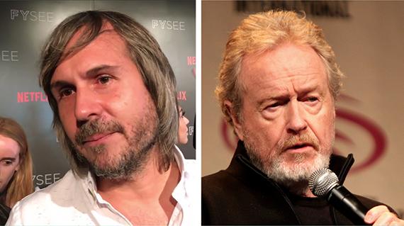 Andi Baiz y Ridley Scott
