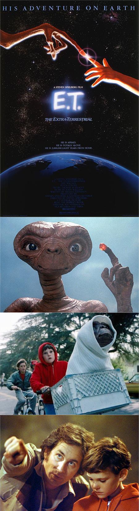 """""""E.T., el extraterrestre / E.T., the extra-terrestrial"""""""