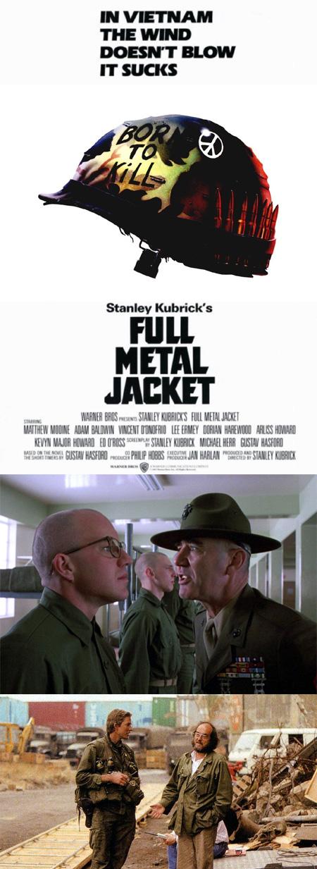 """La chaqueta metálica / Nacido para matar / Full Metal Jacket"""